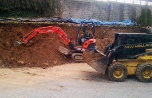 Excavation and grading services