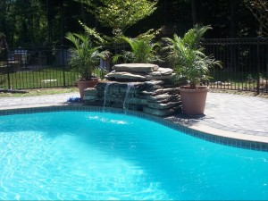 waterfall, pond and pool design NY and NJ