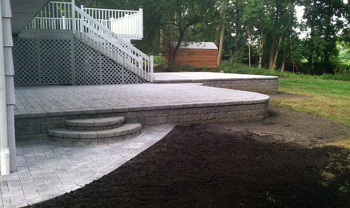 Retaining Wall Patio Westchester County Ny D Amp D Tree And