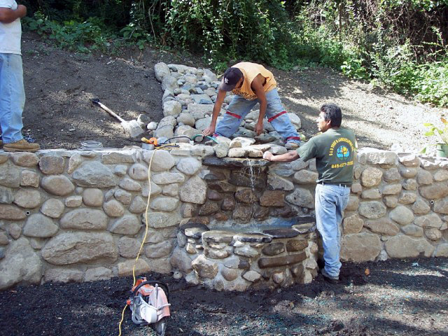 Stone Wall Construction D Amp D Tree And Landscape