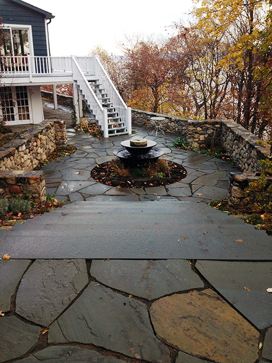 Sneden's Landing NY masonry and landscaping